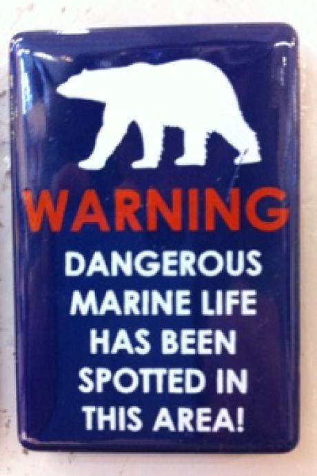 Stamp: Spitsbergen – Be aware of the polar bear!