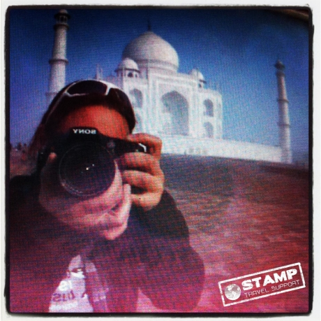 Stamp: India – Onderweg – Kieke