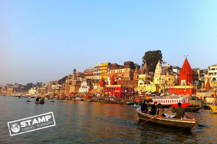 Stamp: India – Varanasi – Ganges