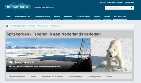 Droomplek Spitsbergen @Droomplekken