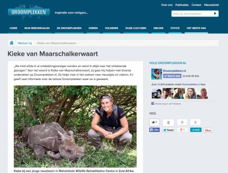 Kieke @Droomplekken.nl
