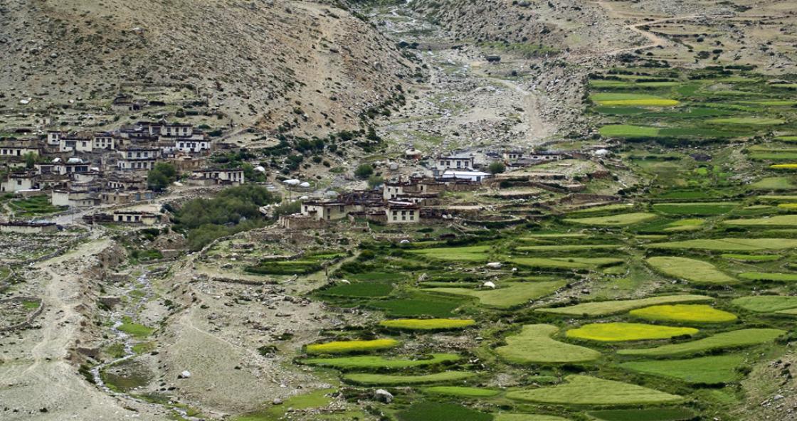 13 – Mountain Village – Himalaya – Tibet