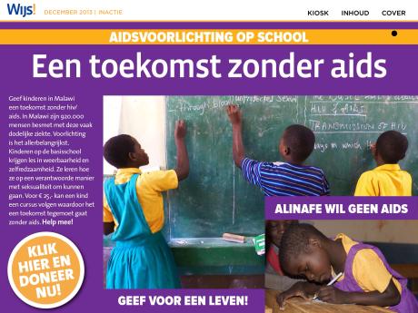 Foto's in 'Wijs' Magazine & App @Edukans