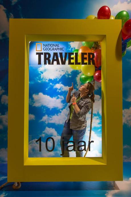 Stamp: Aan het werk op de Vakantiebeurs