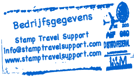 Stamp Travel Support - Kieke van Maarschalkerwaart
