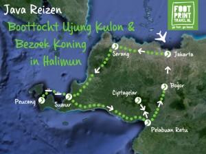 Boottocht Ujung Kulon en Koning in Halimun