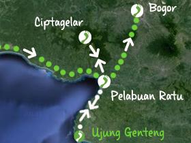 Ext 1 Boottocht Ujung Kulon en Koning in Halimun 2