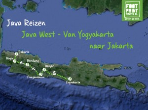Java West Omgekeerd Van Yogyakarta naar Jakarta