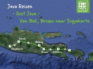 Oost Java Omgekeerd Van Bali, Bromo naar Yogyakarta